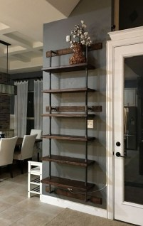 Innovative DIY Industrial Pipe Shelves You Can Make At Home 13