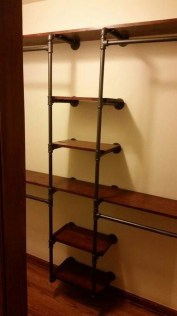 Innovative DIY Industrial Pipe Shelves You Can Make At Home 15