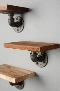 Innovative DIY Industrial Pipe Shelves You Can Make At Home 16