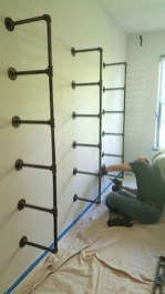 Innovative DIY Industrial Pipe Shelves You Can Make At Home 32