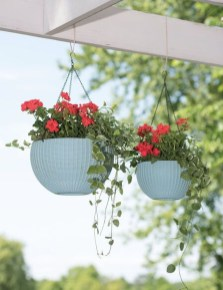 Lovely Hanging Flower To Beautify Your Small Garden In Summer 19