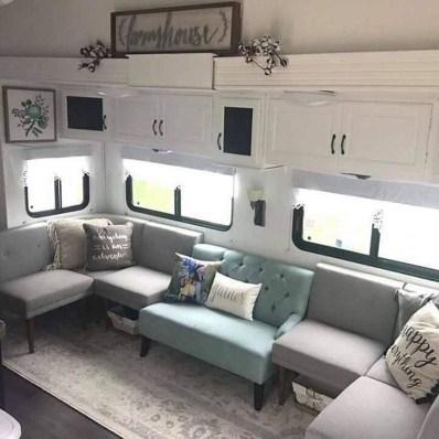 Marvelous Farmhouse RV Makeover Ideas You Can Do 17