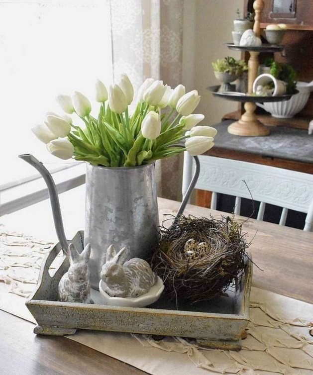 Outstanding Spring Home Decor Ideas That Looks Modern 51