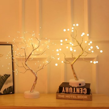 Pretty DIY Fairy Light Ideas For Minimalist Bedroom Decoration 13