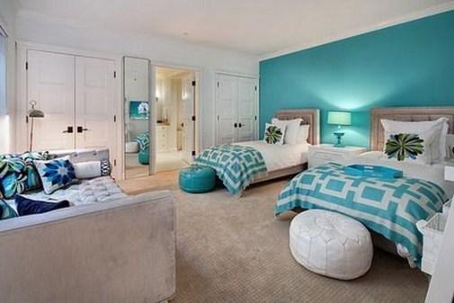 Stunning Teenage Bedroom Decoration Ideas With Big Bed 01