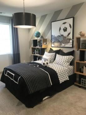Stunning Teenage Bedroom Decoration Ideas With Big Bed 12