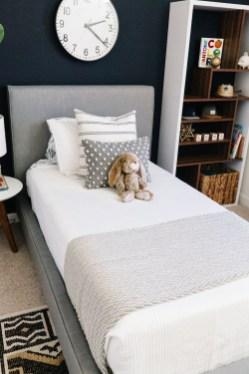 Stunning Teenage Bedroom Decoration Ideas With Big Bed 29