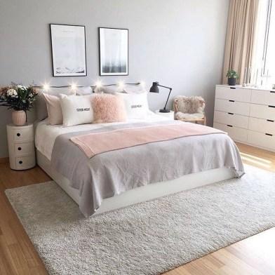 Stunning Teenage Bedroom Decoration Ideas With Big Bed 32