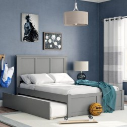 Stunning Teenage Bedroom Decoration Ideas With Big Bed 45