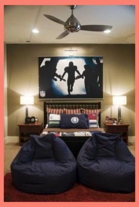 Stunning Teenage Bedroom Decoration Ideas With Big Bed 49