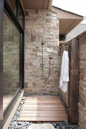A Perfect Collection Of Outdoor Shower Ideas For Your Home 24