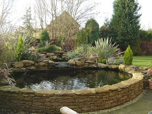 Adorable Fish Ponds Inspirations For Your Home 13