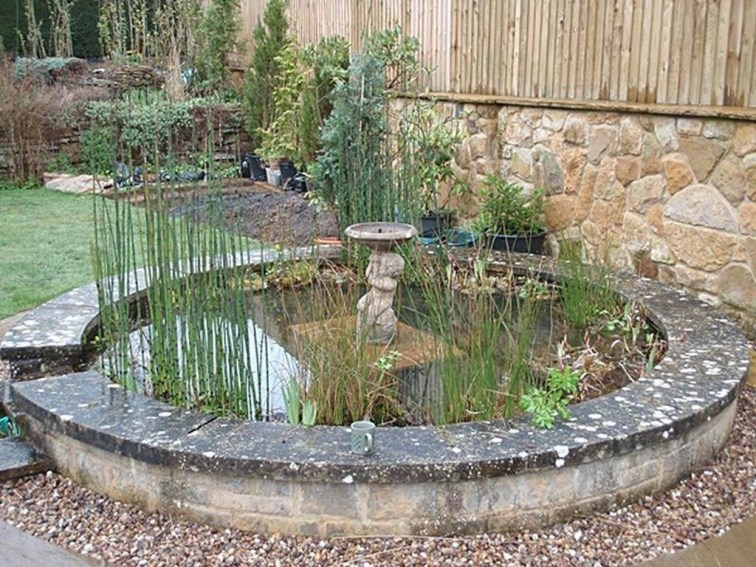 Adorable Fish Ponds Inspirations For Your Home 37