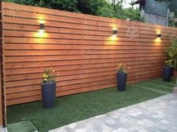 Beautiful Garden Fence Decorating Ideas To Follow 16