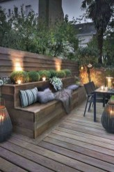 Comfy Spring Backyard Ideas With A Seating Area That Make You Feel Relax 08