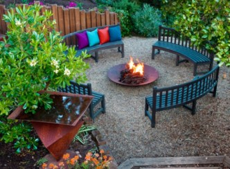 Comfy Spring Backyard Ideas With A Seating Area That Make You Feel Relax 23