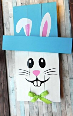 Cute Easter Bunny Decorations Ideas For Your Inspiration 18