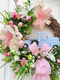 Cute Easter Bunny Decorations Ideas For Your Inspiration 21