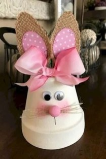 Cute Easter Bunny Decorations Ideas For Your Inspiration 32