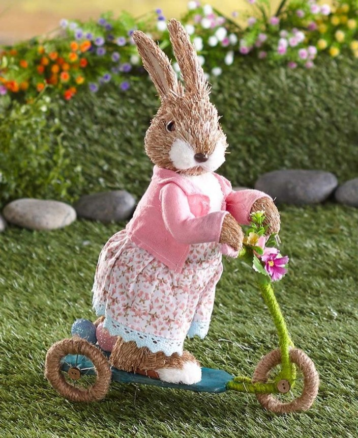 Cute Easter Bunny Decorations Ideas For Your Inspiration 46