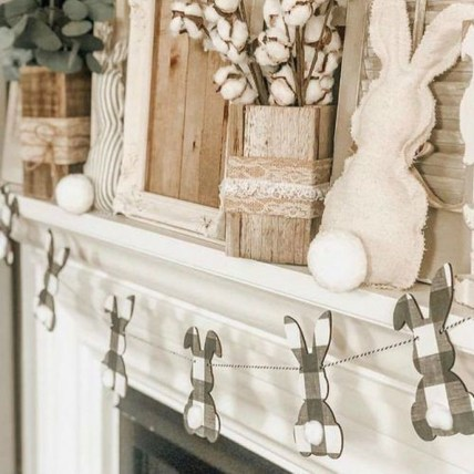 Cute Easter Bunny Decorations Ideas For Your Inspiration 48