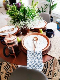 Easy And Natural Spring Tablescape To Home Decor Ideas 01