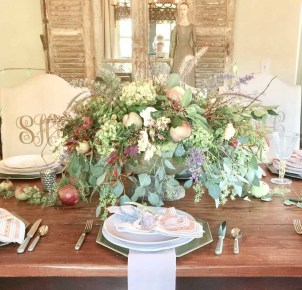 Easy And Natural Spring Tablescape To Home Decor Ideas 11