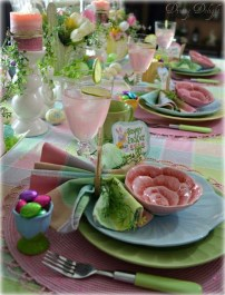 Easy And Natural Spring Tablescape To Home Decor Ideas 23