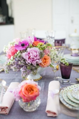 Easy And Natural Spring Tablescape To Home Decor Ideas 36