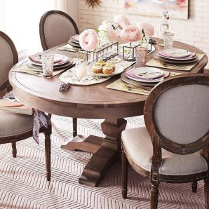 Easy And Natural Spring Tablescape To Home Decor Ideas 44