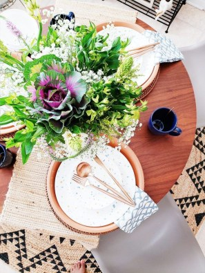 Easy And Natural Spring Tablescape To Home Decor Ideas 49
