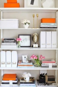 Fabulous Bookcase Decorating Ideas To Perfect Your Interior Design 29