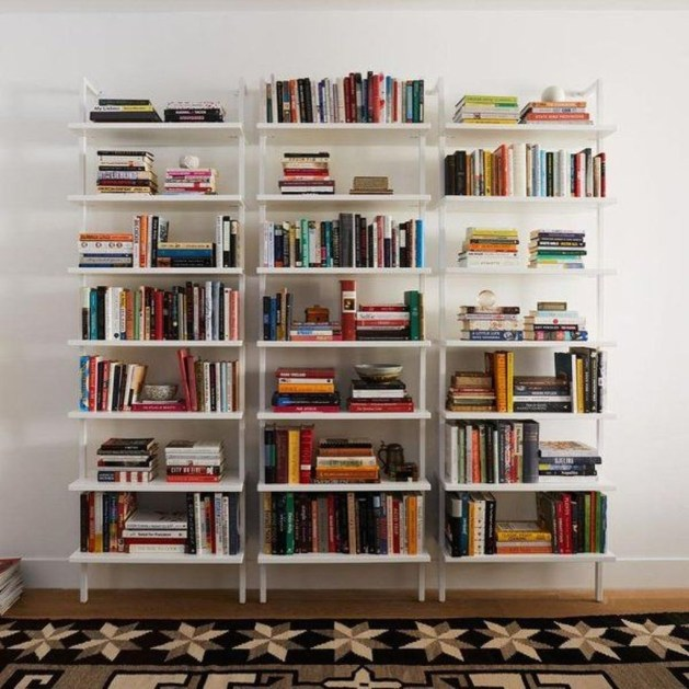 Fabulous Bookcase Decorating Ideas To Perfect Your Interior Design 44