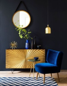 Fancy Gold Color Interior Design Ideas For Your Home Style To Copy 11