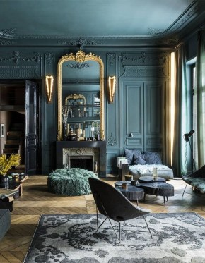 Fancy Gold Color Interior Design Ideas For Your Home Style To Copy 35