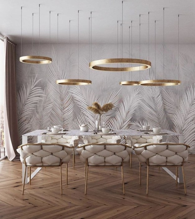 Fancy Gold Color Interior Design Ideas For Your Home Style To Copy 46