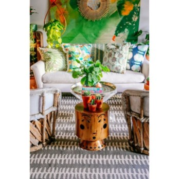 Gorgeous Colorful Bohemian Spring Porch Update For Your Inspire 06