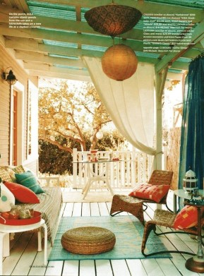 Gorgeous Colorful Bohemian Spring Porch Update For Your Inspire 16