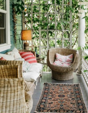 Gorgeous Colorful Bohemian Spring Porch Update For Your Inspire 32