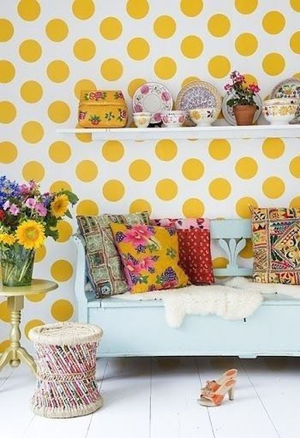Gorgeous Colorful Bohemian Spring Porch Update For Your Inspire 38
