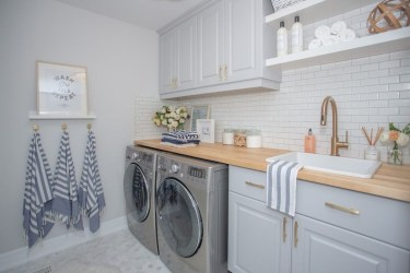 Inspiring Laundry Room Design With French Country Style 05