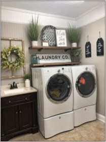 Inspiring Laundry Room Design With French Country Style 10