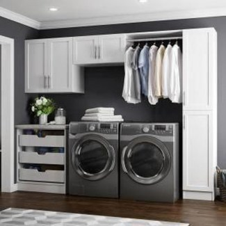 Inspiring Laundry Room Design With French Country Style 15