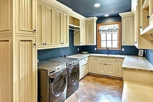 Inspiring Laundry Room Design With French Country Style 19