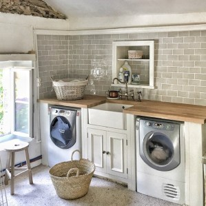 Inspiring Laundry Room Design With French Country Style 22