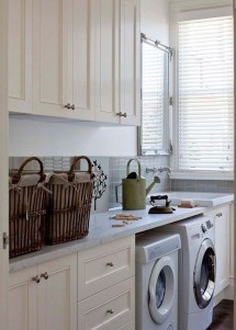 Inspiring Laundry Room Design With French Country Style 35