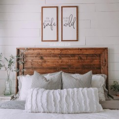 Perfect Choices Of Furniture For A Farmhouse Bedroom 20