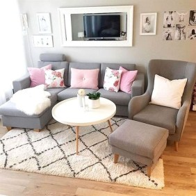 Popular Ways To Efficiently Arrange Furniture For Small Living Room 32