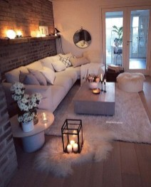 Popular Ways To Efficiently Arrange Furniture For Small Living Room 37