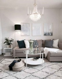Popular Ways To Efficiently Arrange Furniture For Small Living Room 47